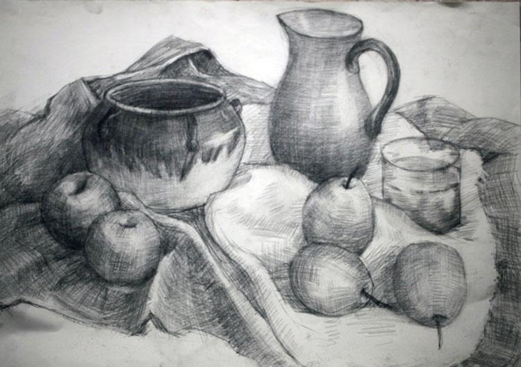 20111106静物素描