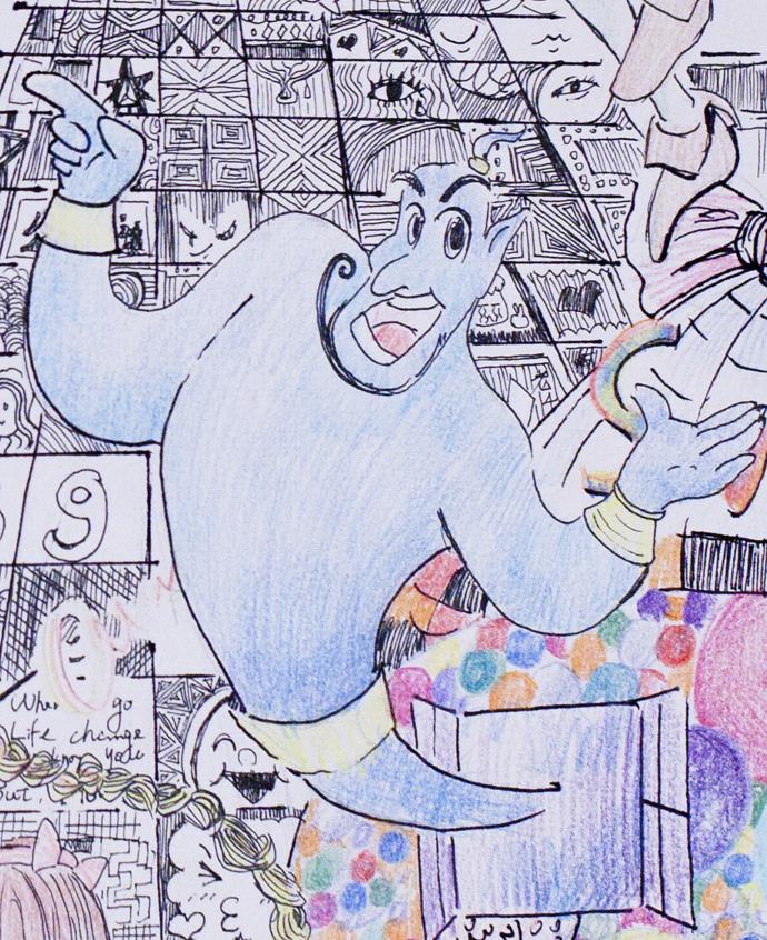 卡通画(十一)回到童年